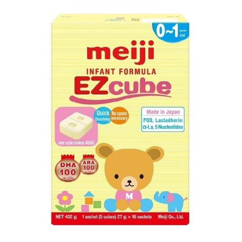 Sữa Meiji số 0 cho trẻ sơ sinh có bị táo bón không